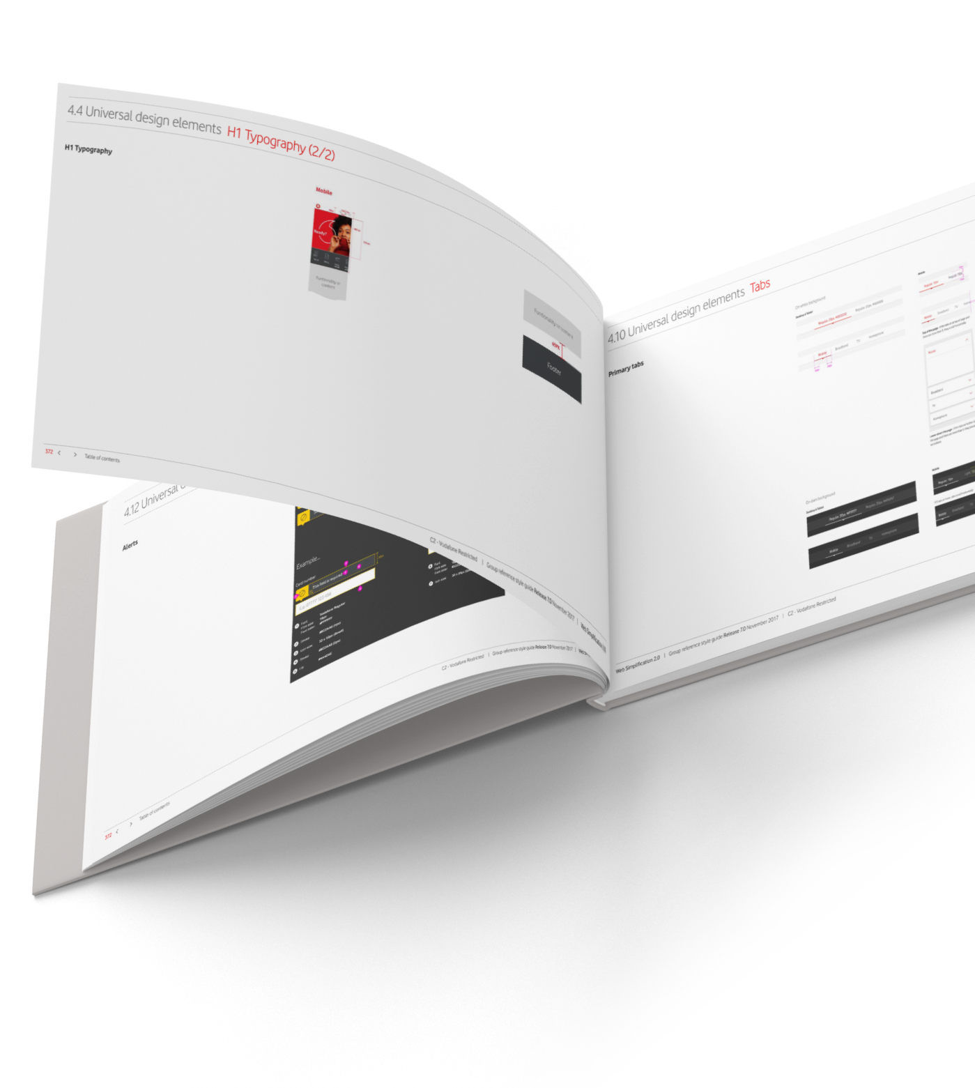 Vod Low UIkit 01 Horizontal Book Mockup 5